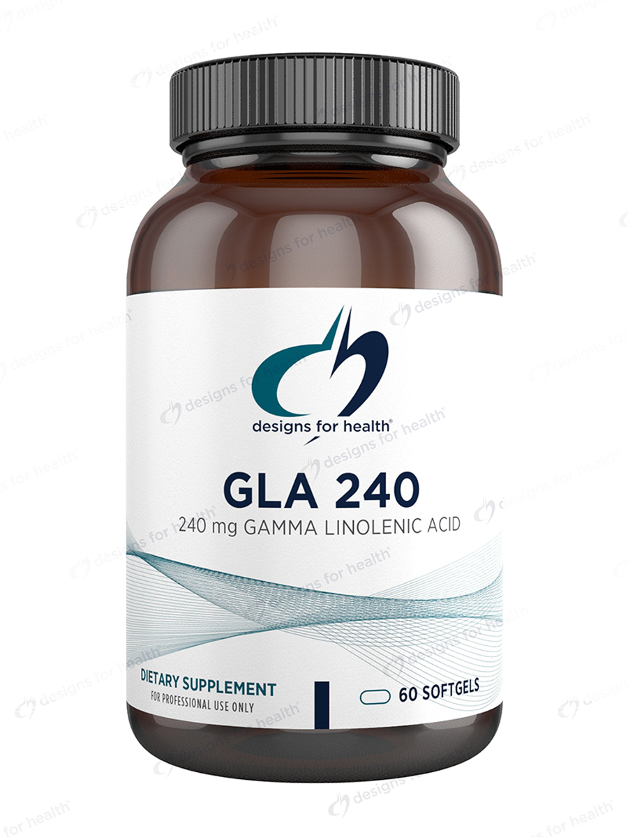 GLA 240 (Gamma-Linolenic Acid) - 60 Softgels