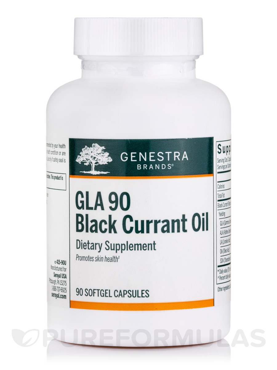 GLA 90 Black Currant Oil - 90 Softgel Capsules