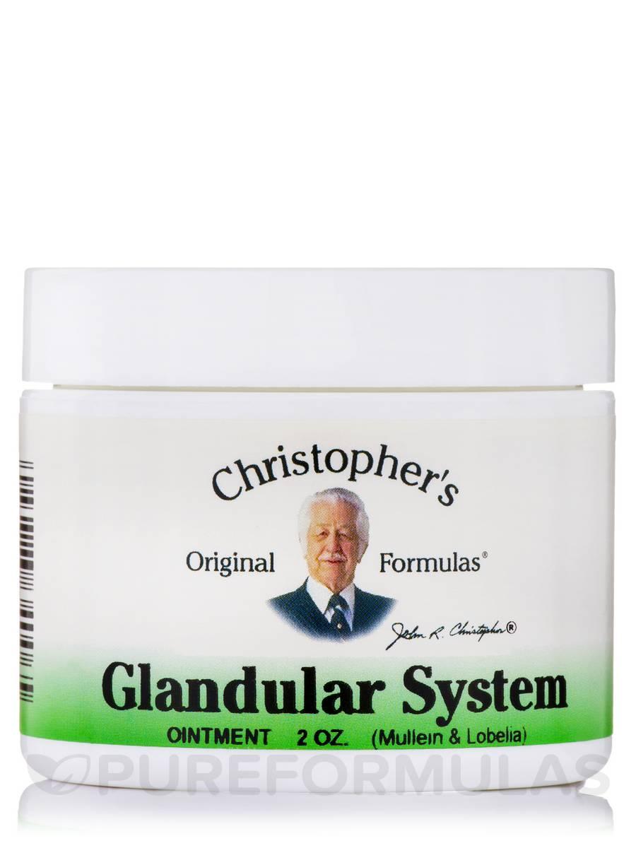Glandular System Ointment - 2 oz