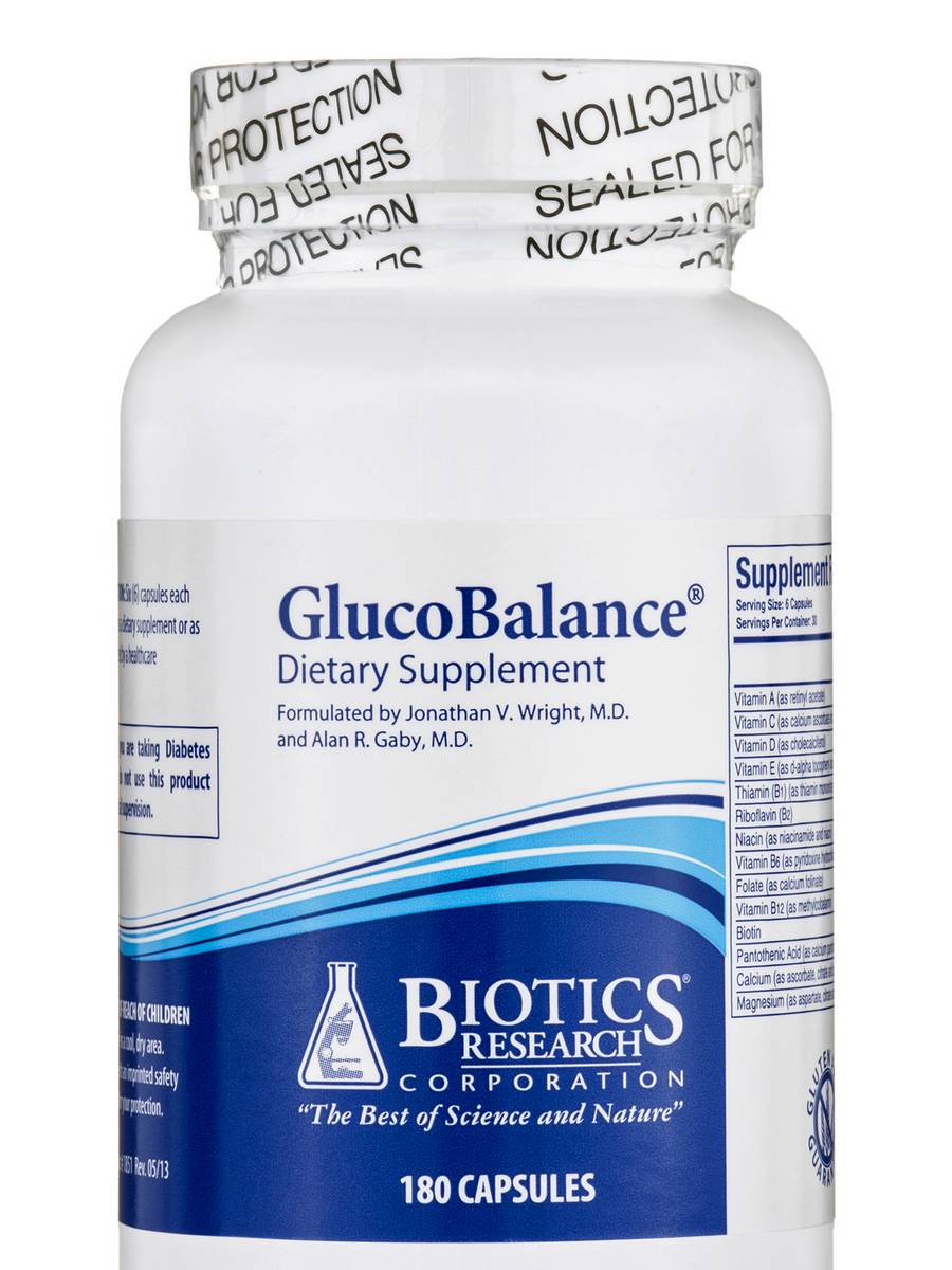 GlucoBalance - 180 Capsules
