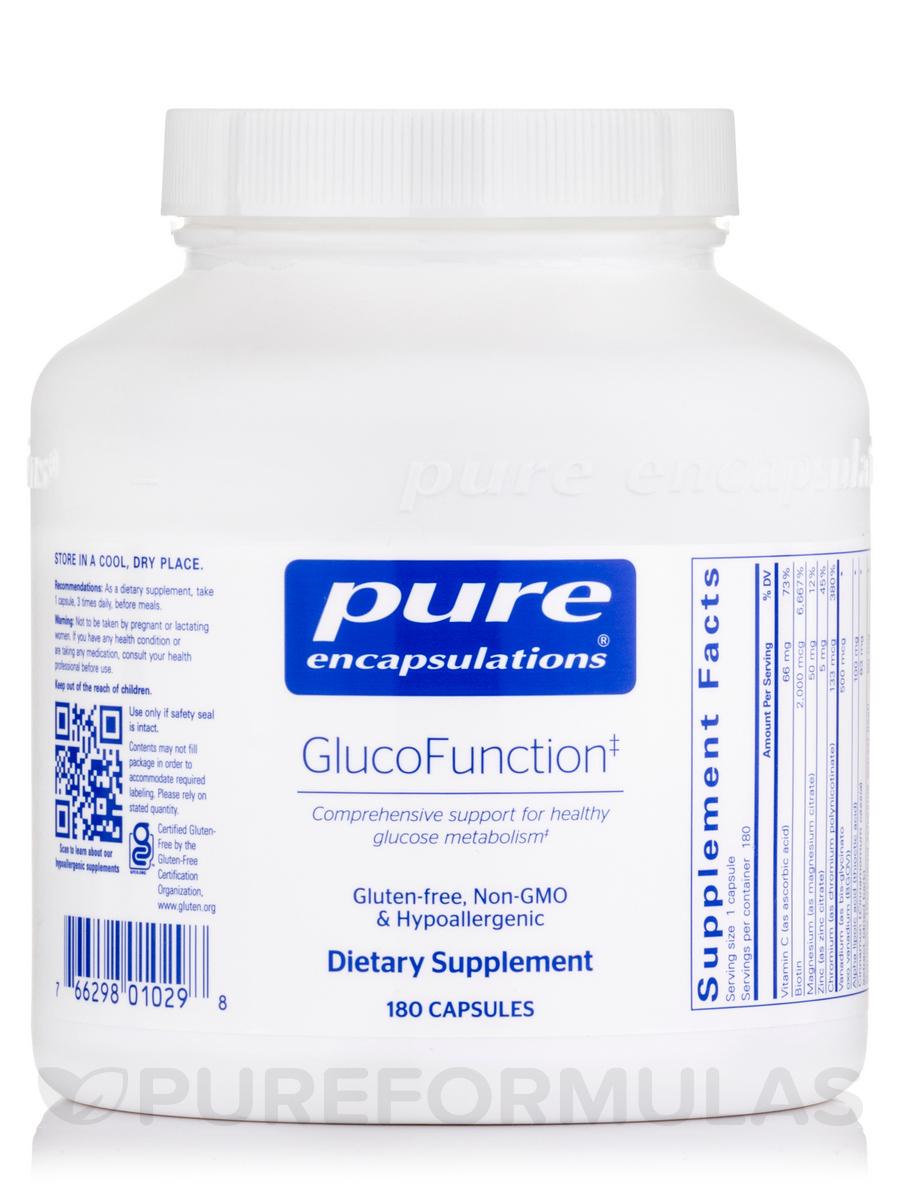 GlucoFunction - 180 Capsules
