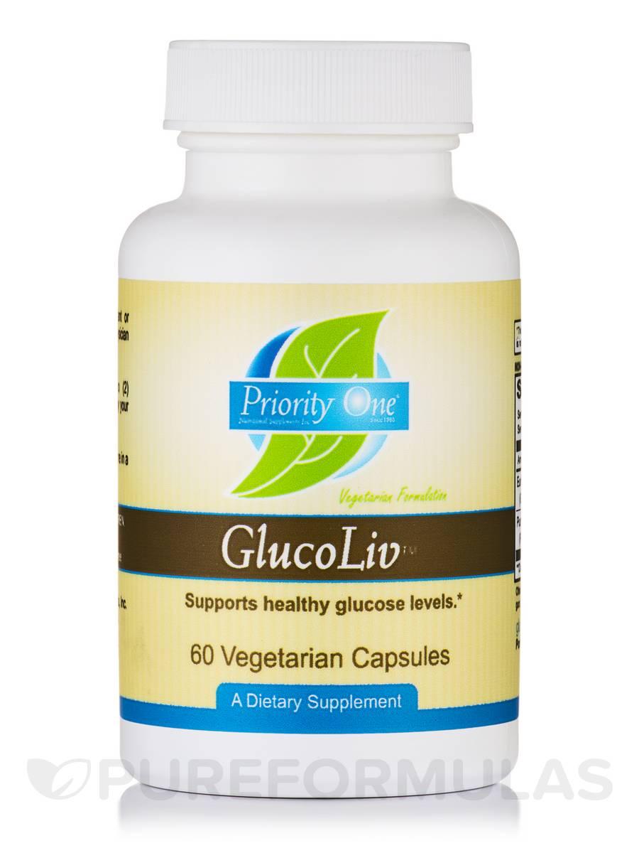 GlucoLiv™ - 60 Vegetarian Capsules
