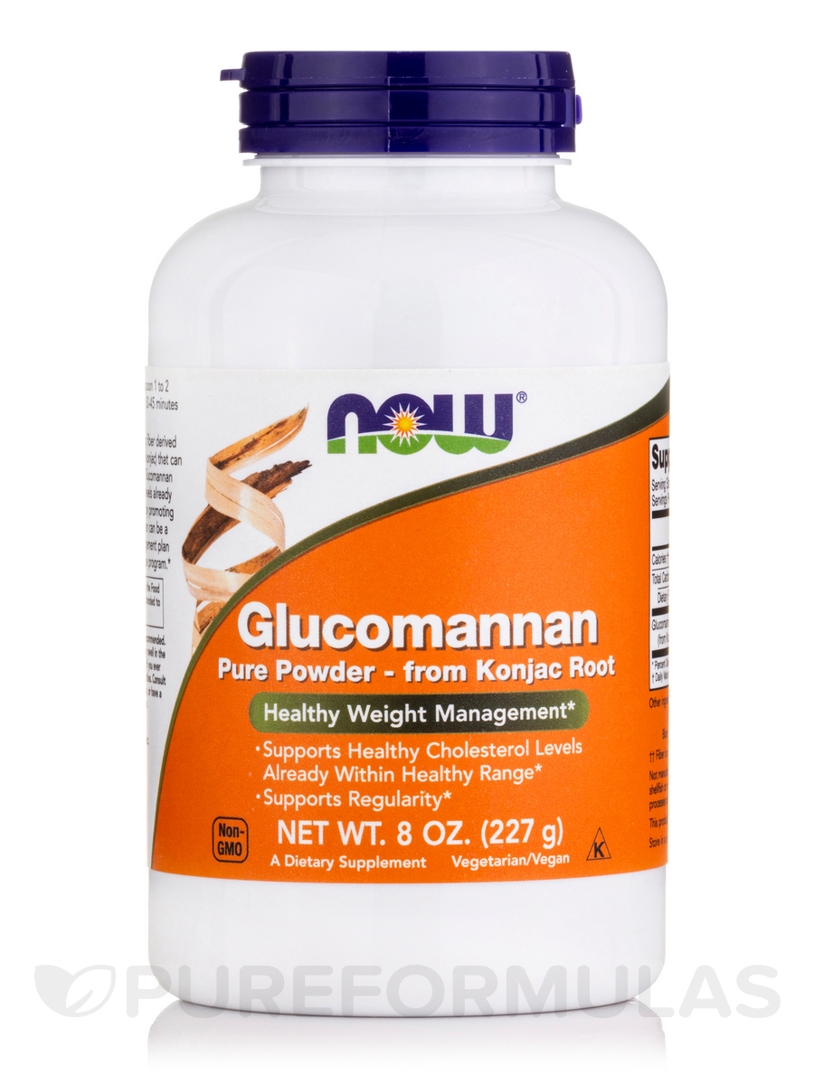 Glucomannan 100% Pure Powder - 8 oz (227 Grams)