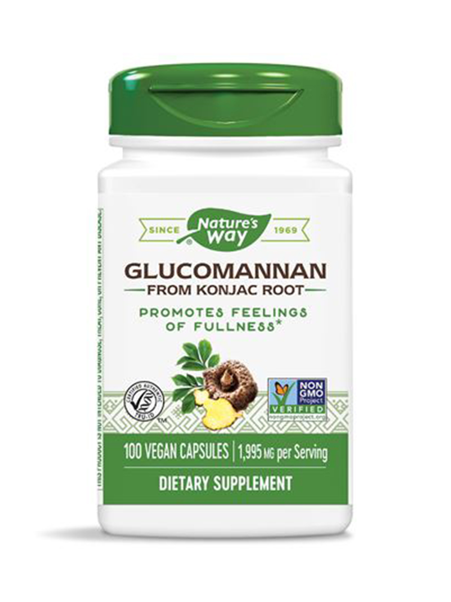 Glucomannan Root 665 mg - 100 VCaps