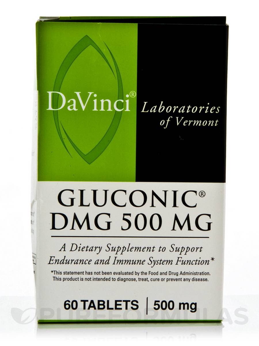 Gluconic® DMG 500 mg - 60 Tablets