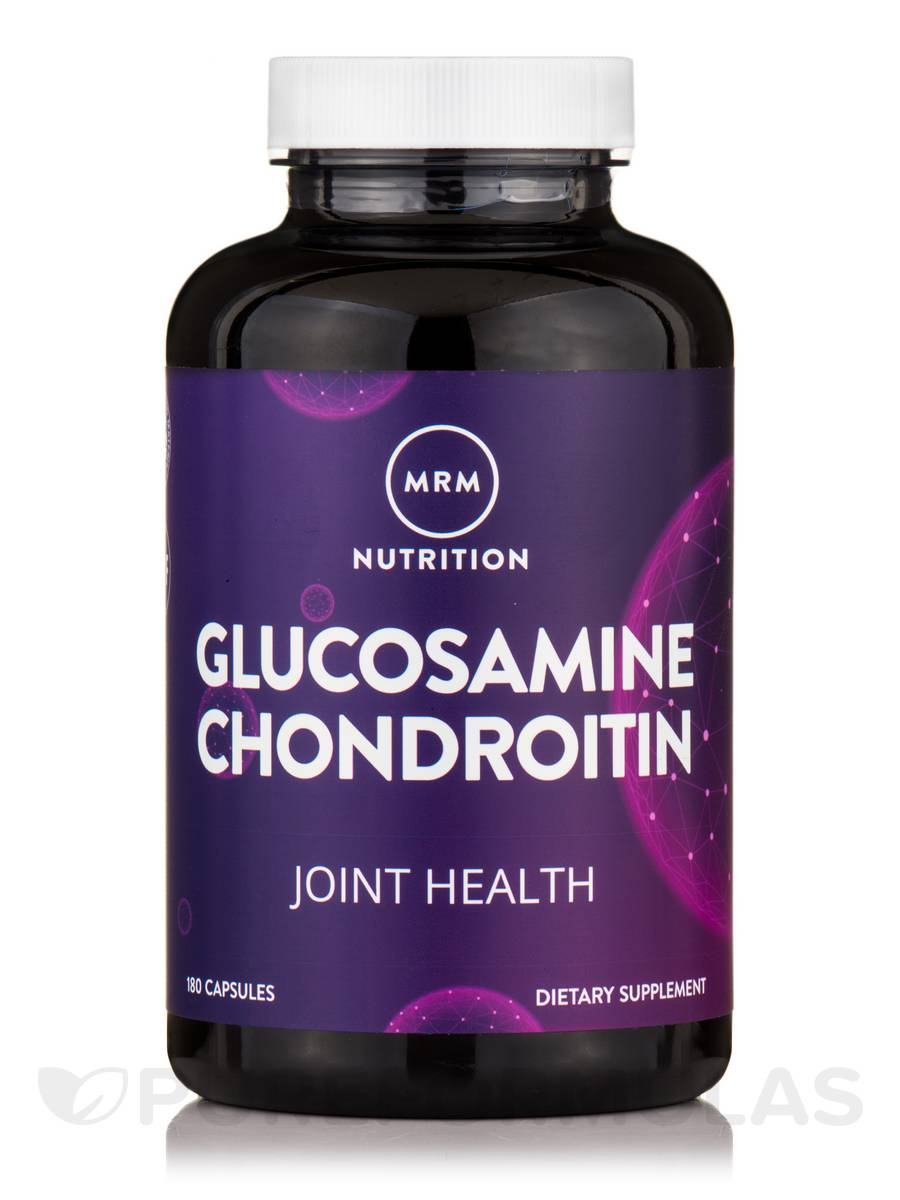 Glucosamine 1500 mg/Chondroitin Sulfate 1200 mg - 180 Capsules