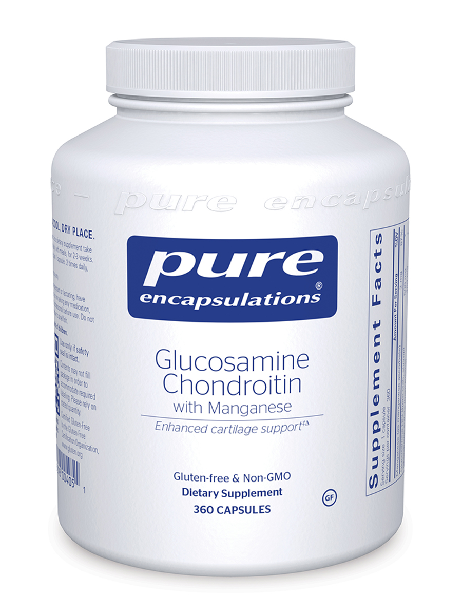 Glucosamine + Chondroitin with Manganese - 360 Capsules