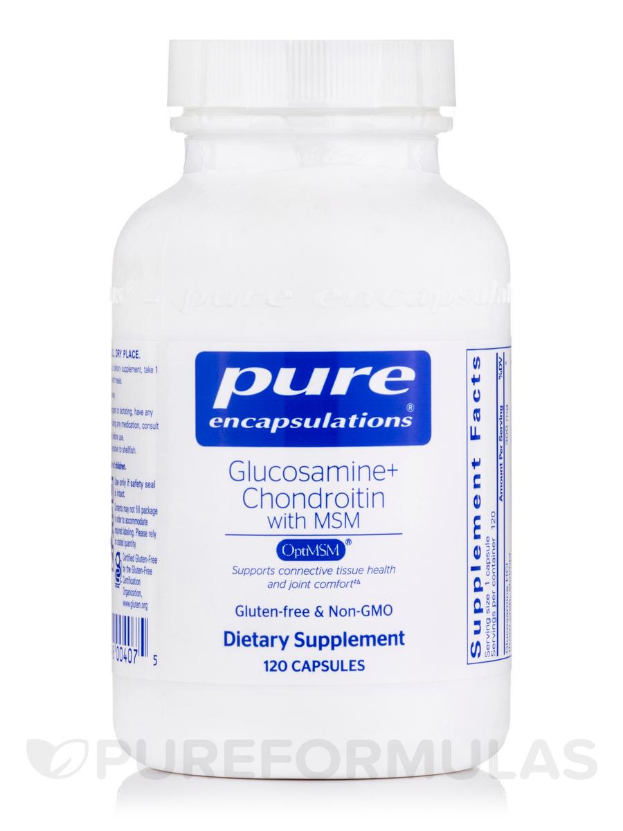 Glucosamine + Chondroitin with MSM - 120 Capsules