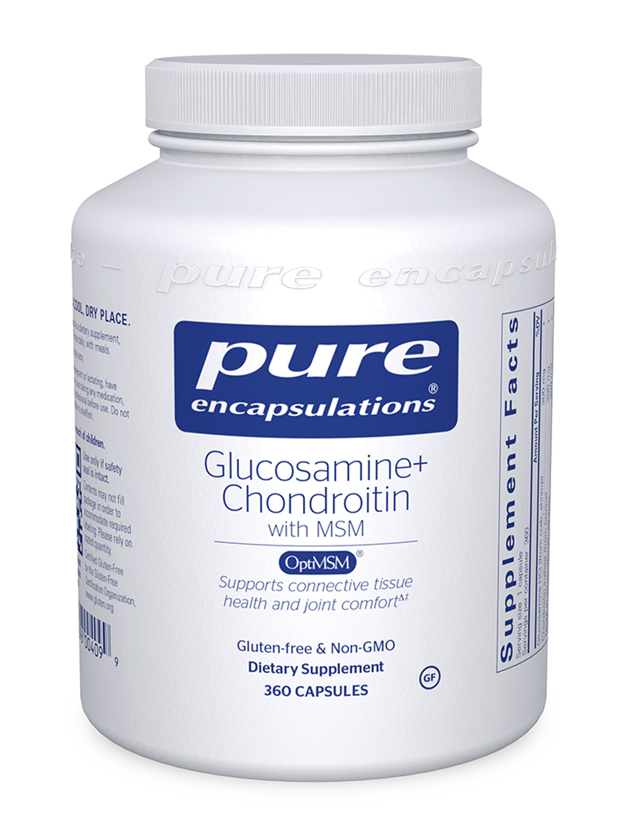 Glucosamine + Chondroitin with MSM - 360 Capsules