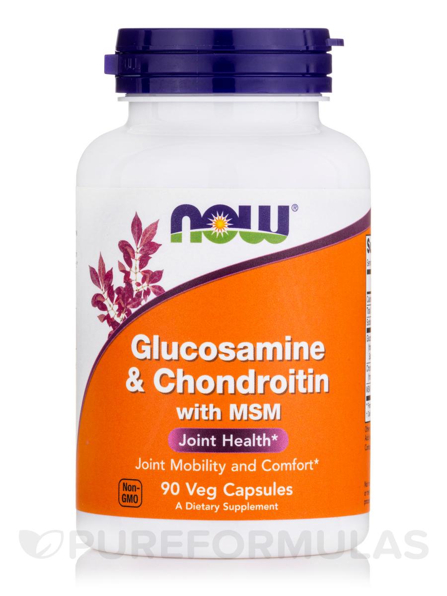 Glucosamine & Chondroitin with MSM - 90 Capsules