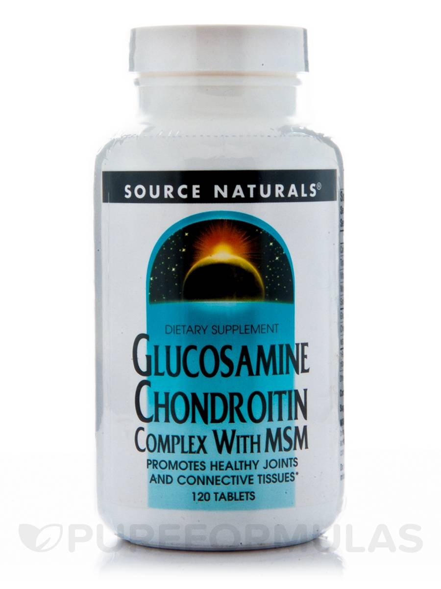 Glucosamine Chondroitin Complex with MSM - 120 Tablets
