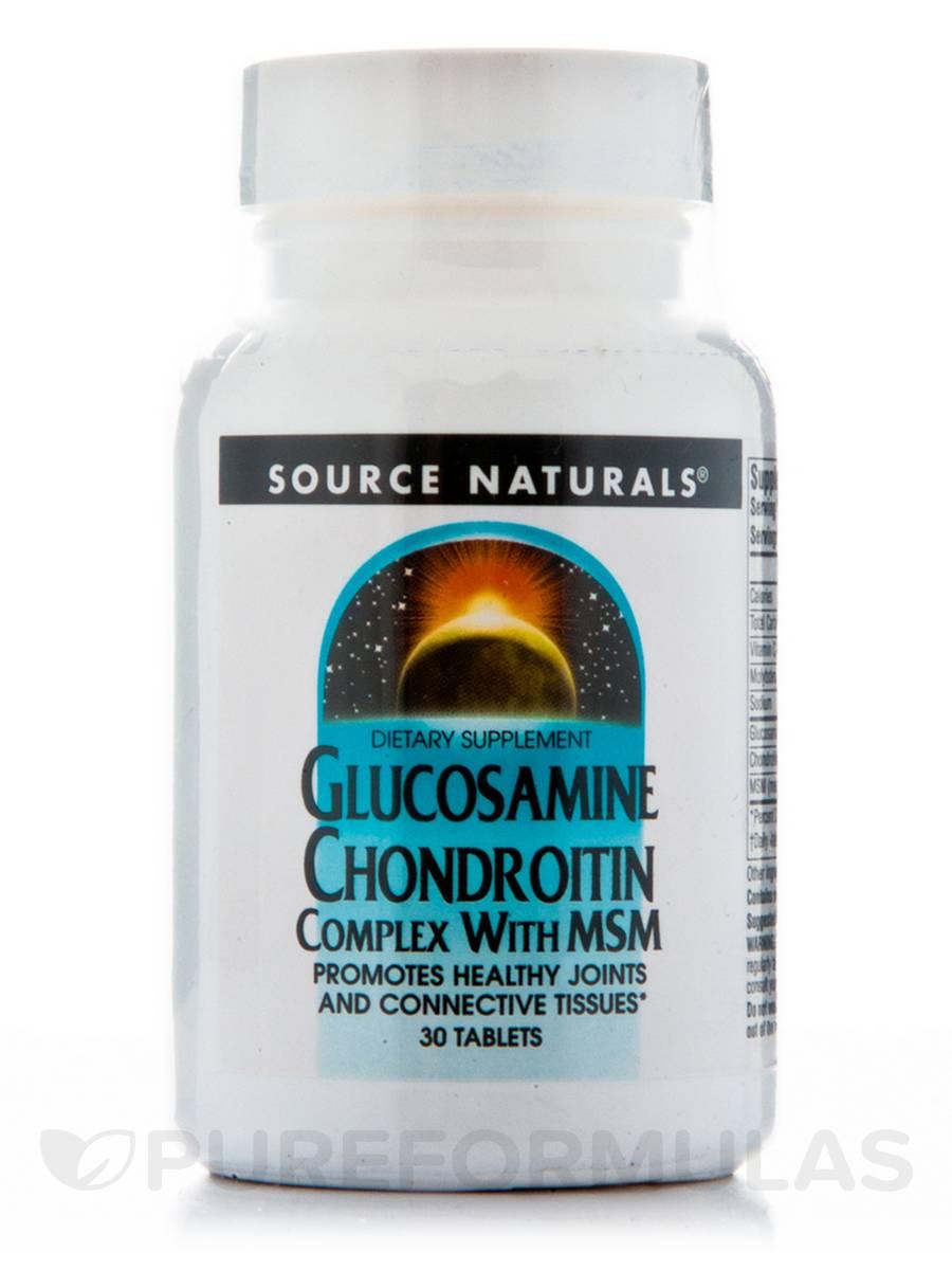 Glucosamine Chondroiton MSM - 30 Tablets