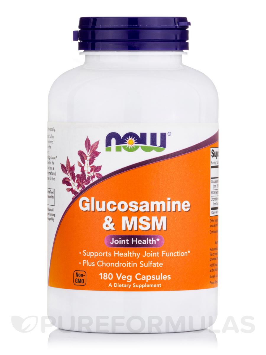Glucosamine & MSM - 180 Veg Capsules