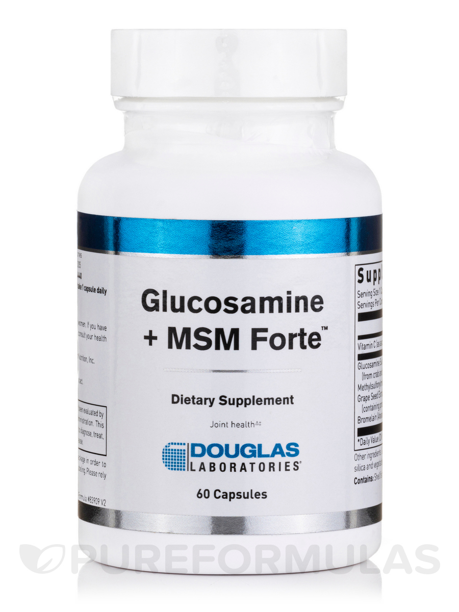 Glucosamine + MSM Forte - 60 Capsules