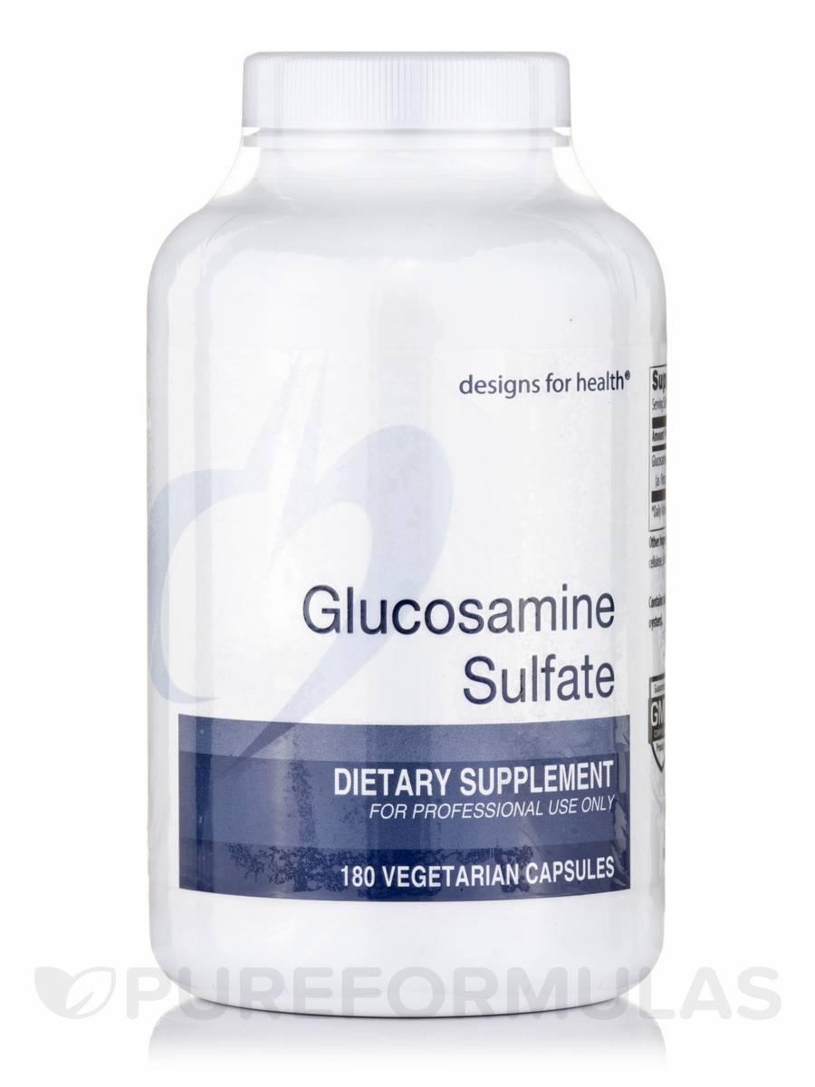 Glucosamine Sulfate - 180 Vegetarian Capsules