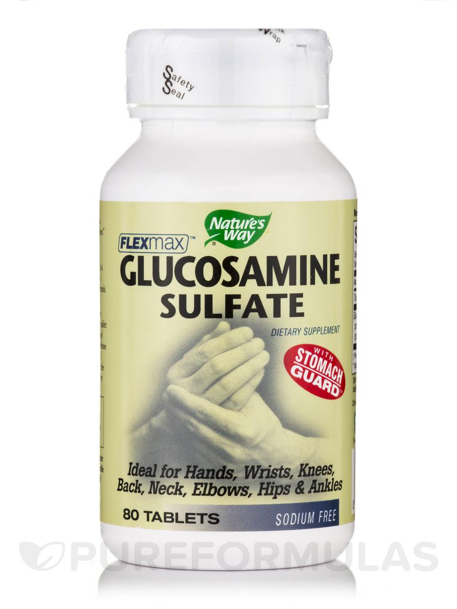 Glucosamine Sulfate - 80 Tablets