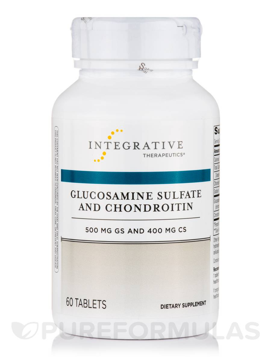 Glucosamine Sulfate and Chondroitin - 60 Tablets