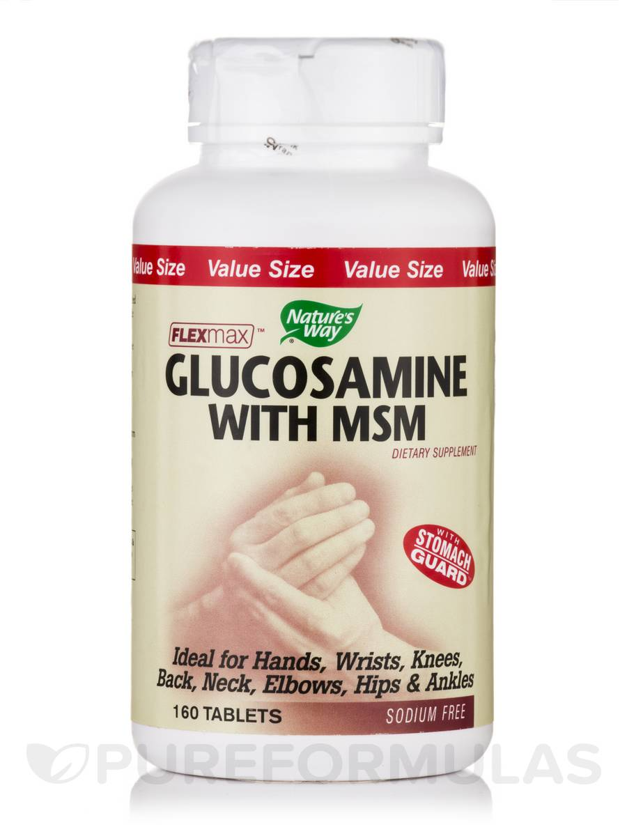 Glucosamine with MSM - 160 Tablets