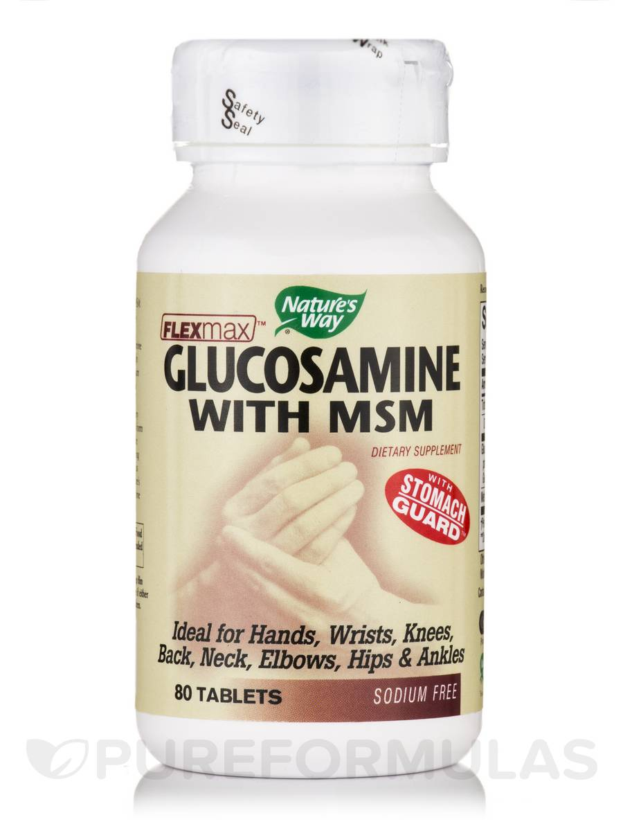 Glucosamine with MSM - 80 Tablets