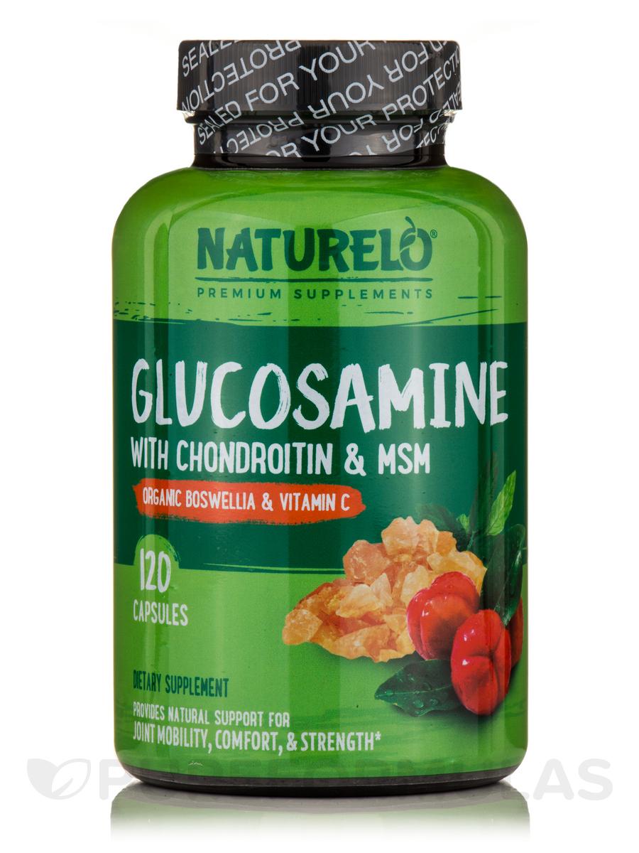 Glucosamine with Chondroitin & MSM - 120 Capsules
