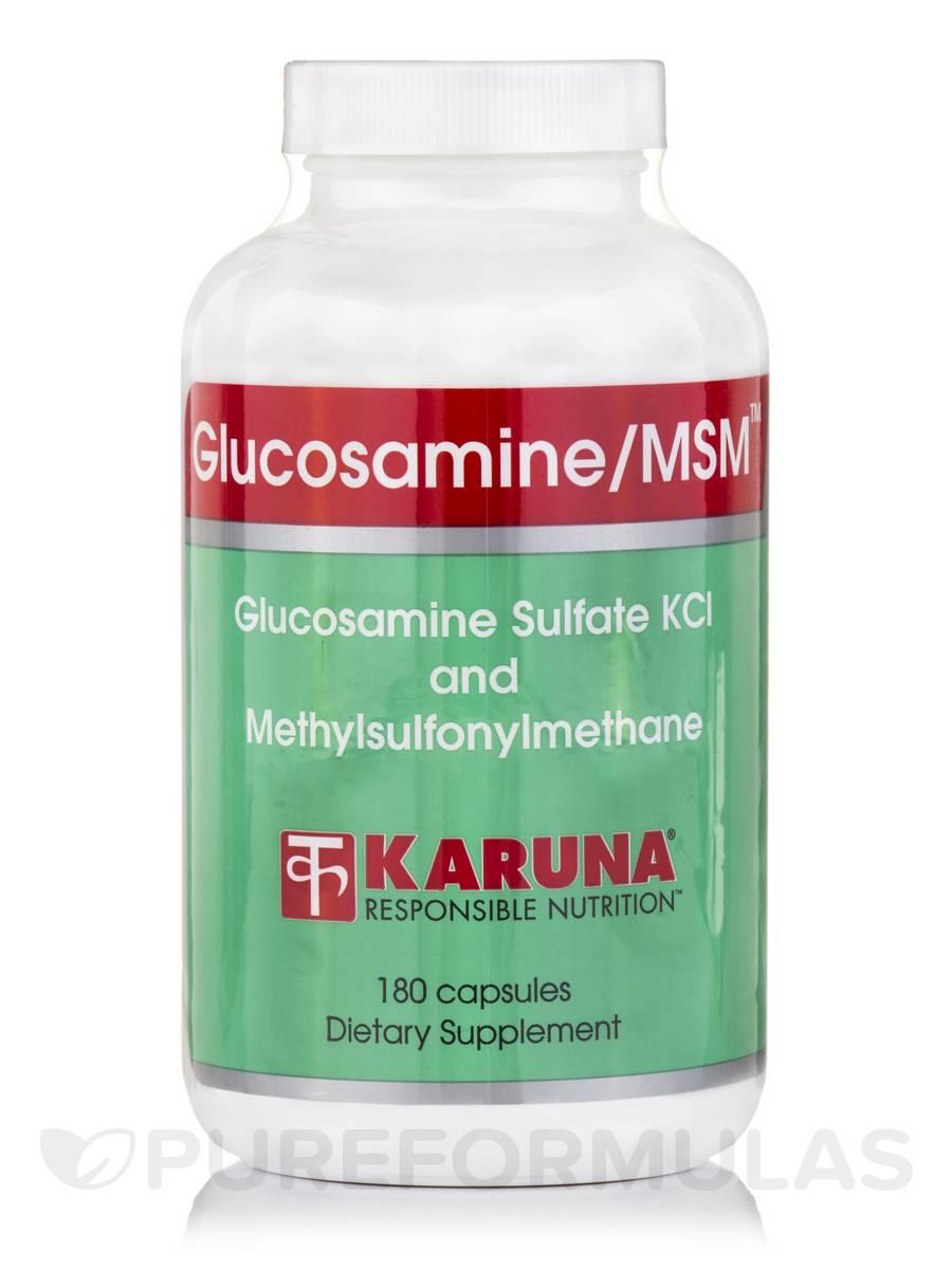 Glucosamine/MSM - 180 Capsules
