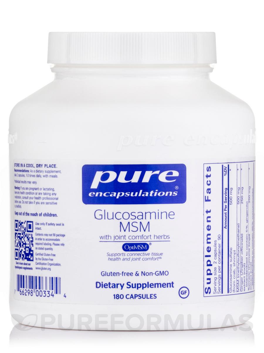Glucosamine MSM - 180 Capsules