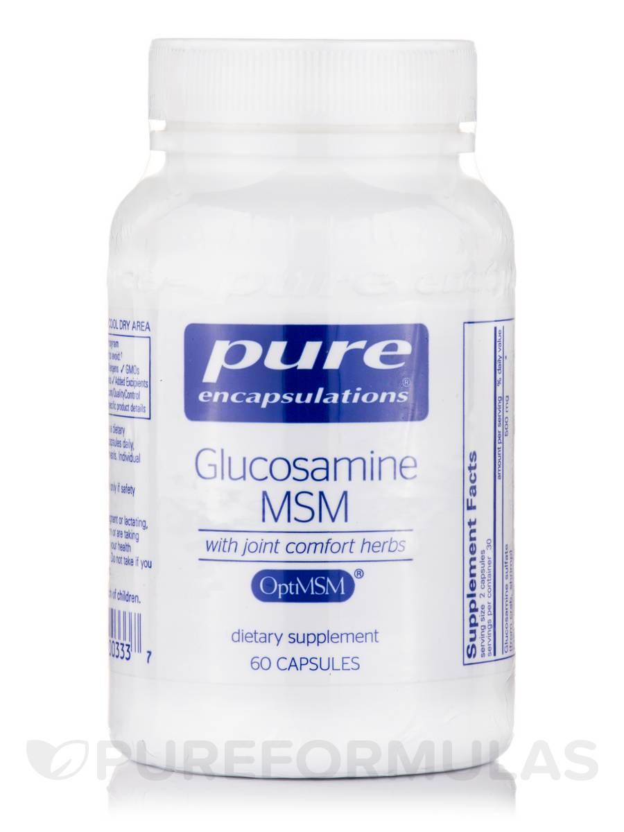Glucosamine MSM - 60 Capsules