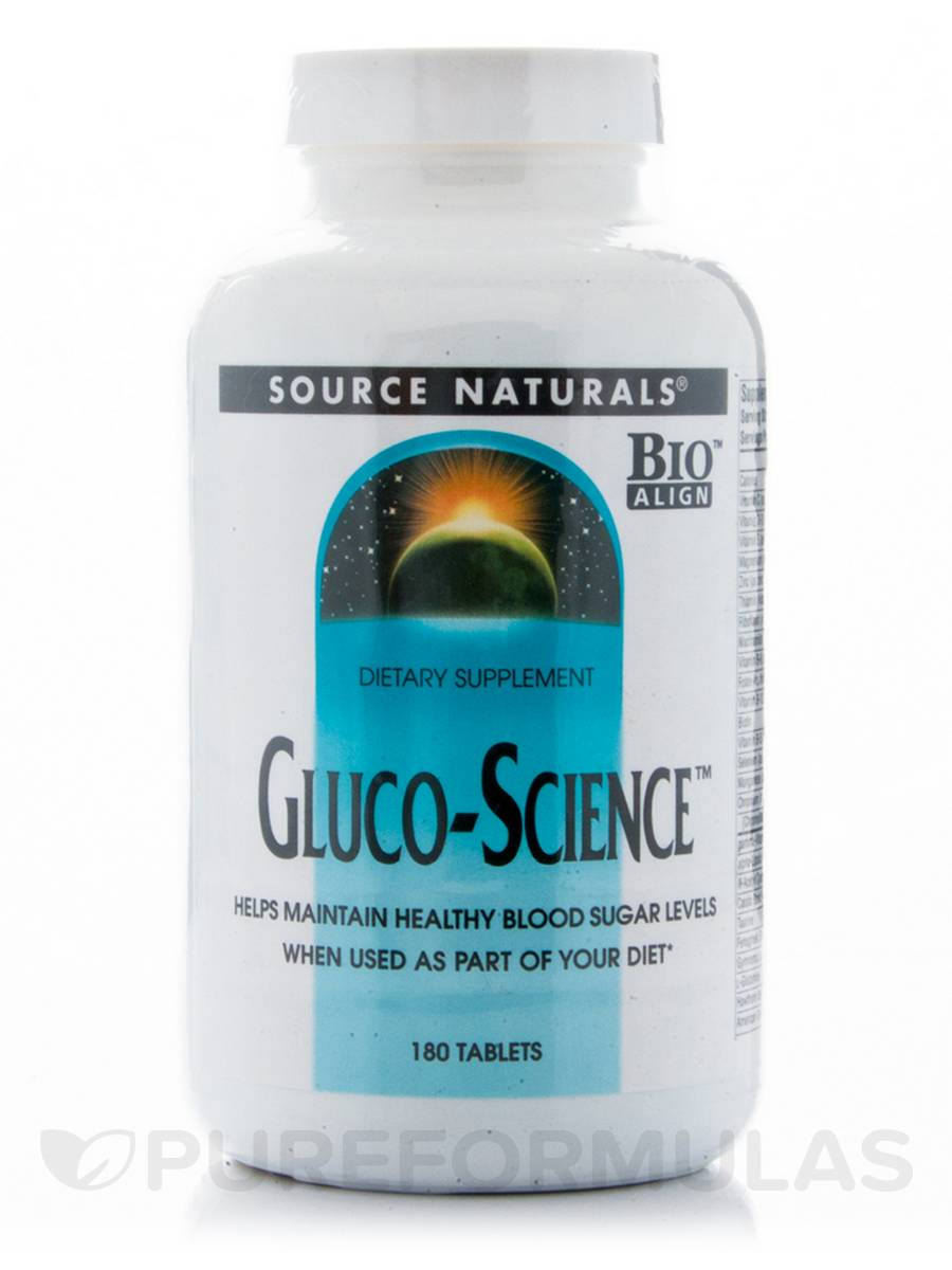 Gluco-Science - 180 Tablets