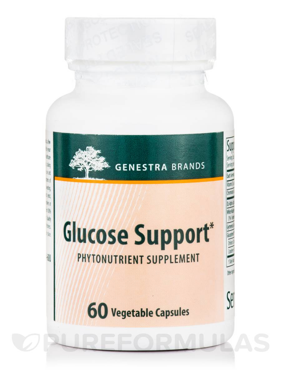 Glucose Support - 60 Vegetable Capsules