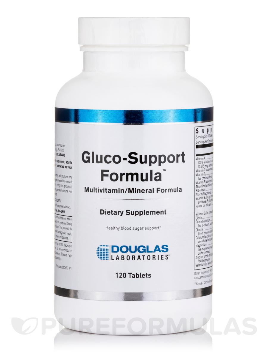 Gluco-Support Formula - 120 Tablets