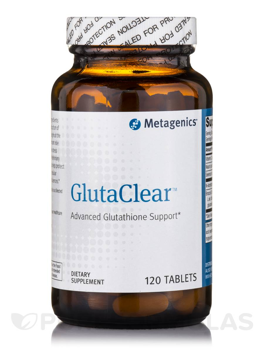 GlutaClear - 120 Tablets