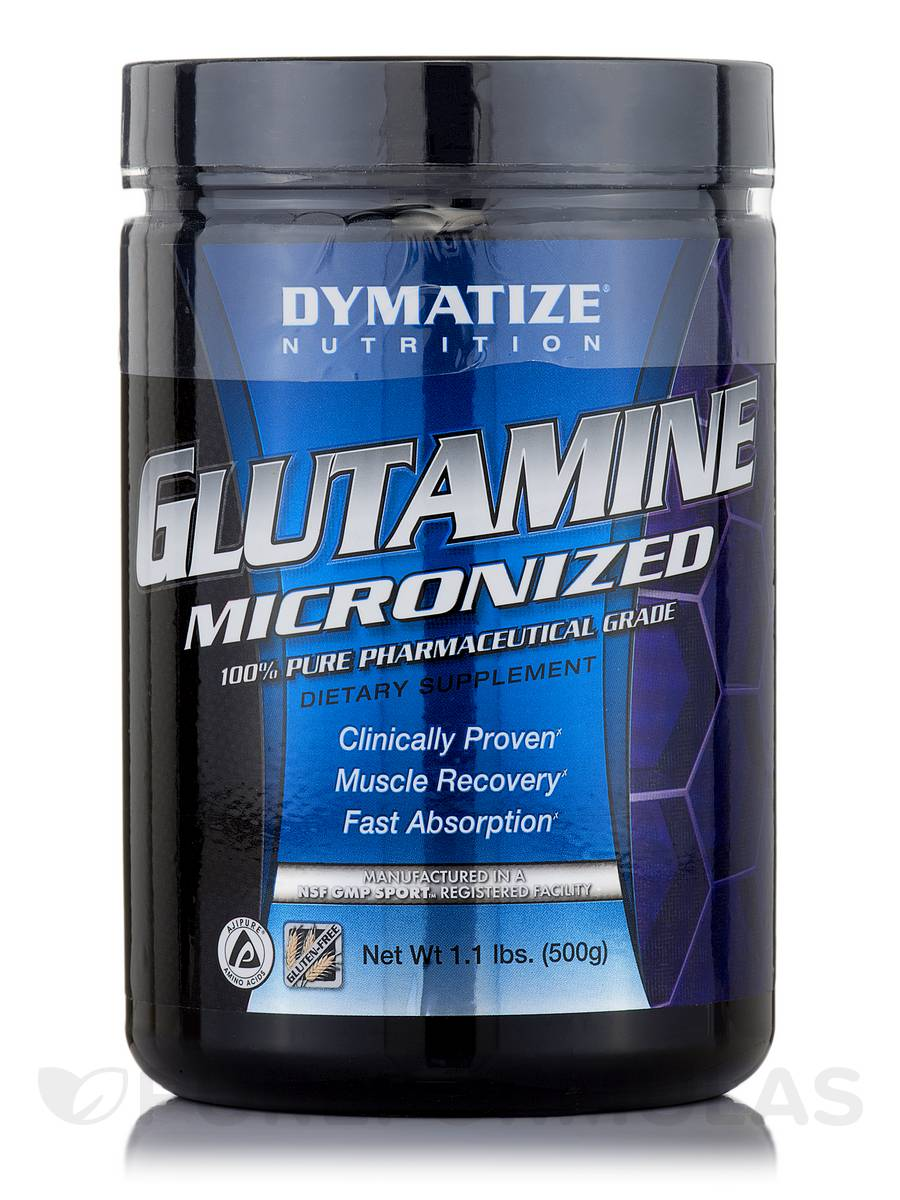 Glutamine Micronized - 1.1 lb (500 Grams)