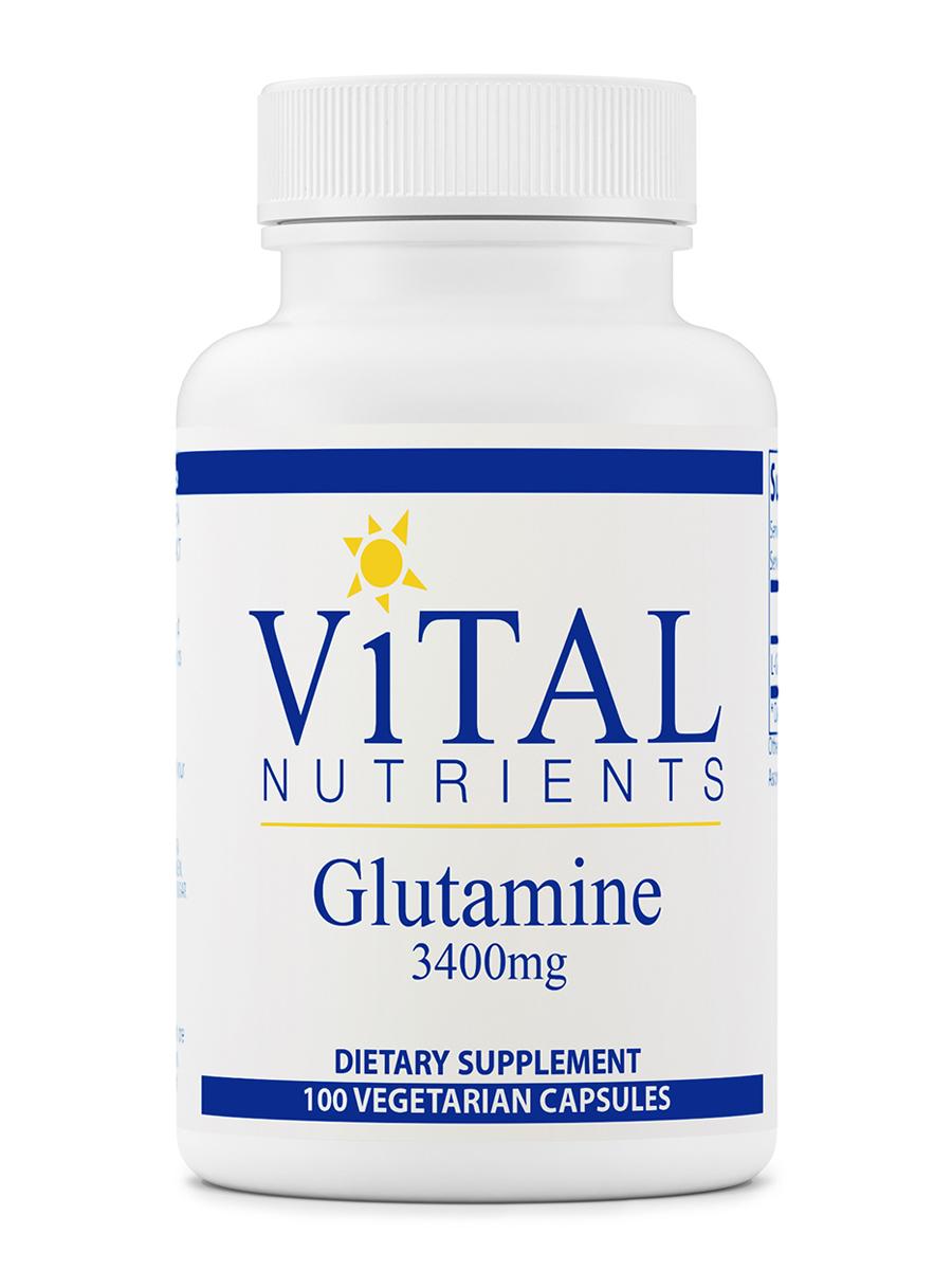 Glutamine 850 mg - 100 Capsules