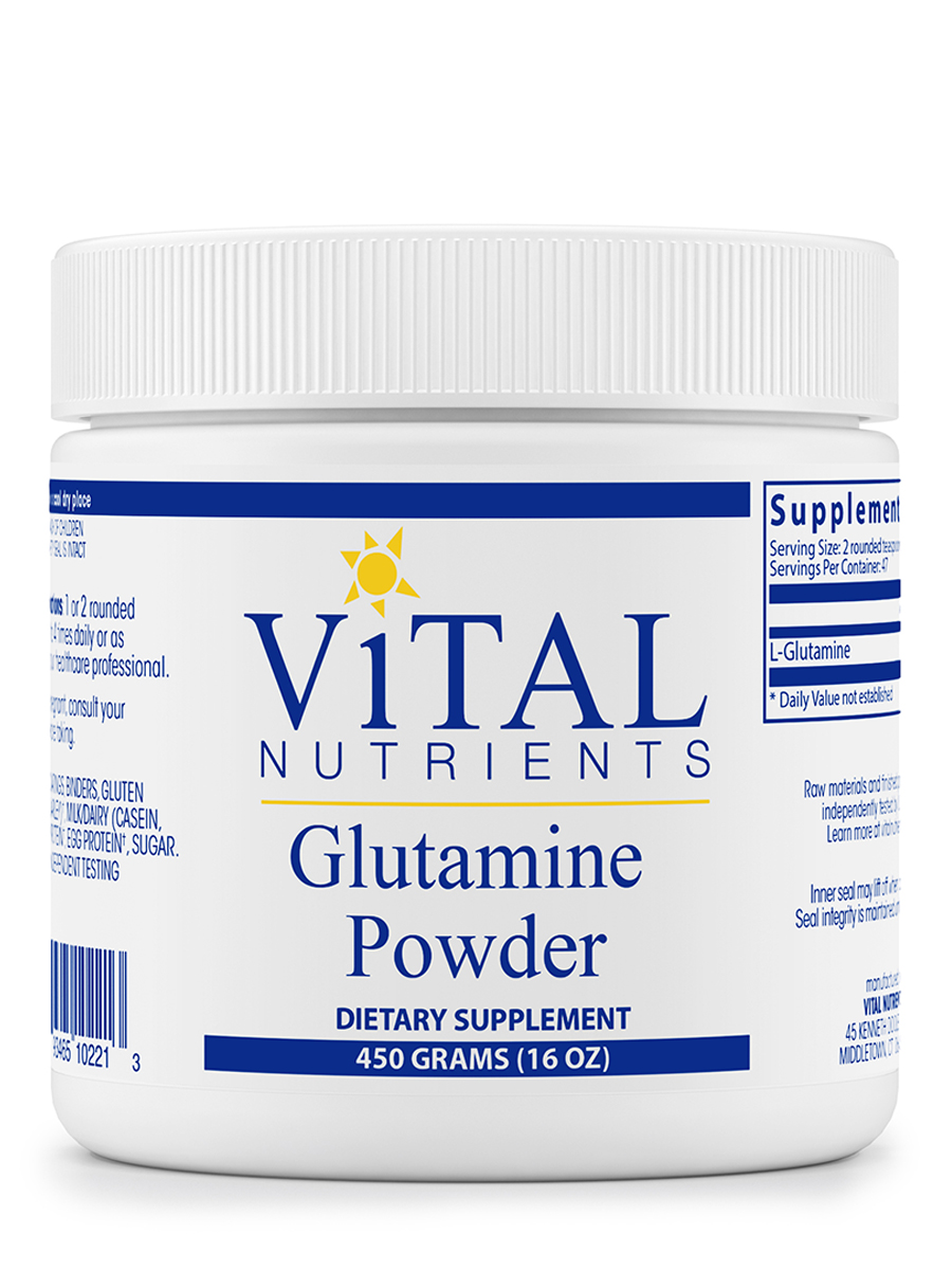 Glutamine Powder - 16 oz (450 Grams)