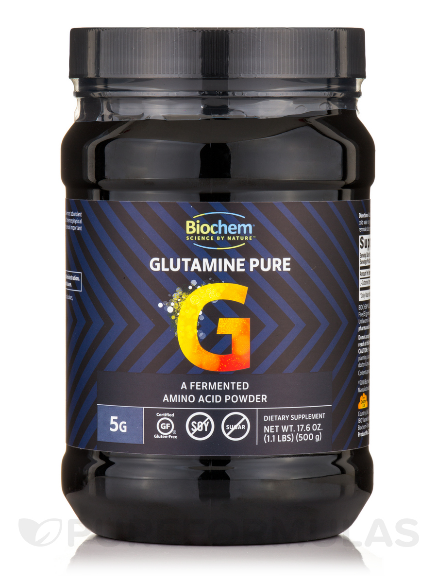 Glutamine Pure Powder - 17.6 oz (500 Grams)