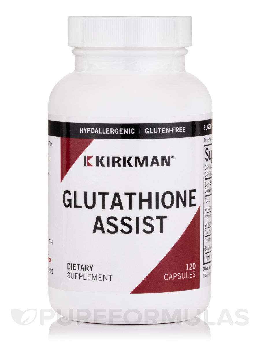 Glutathione Assist - 120 Capsules