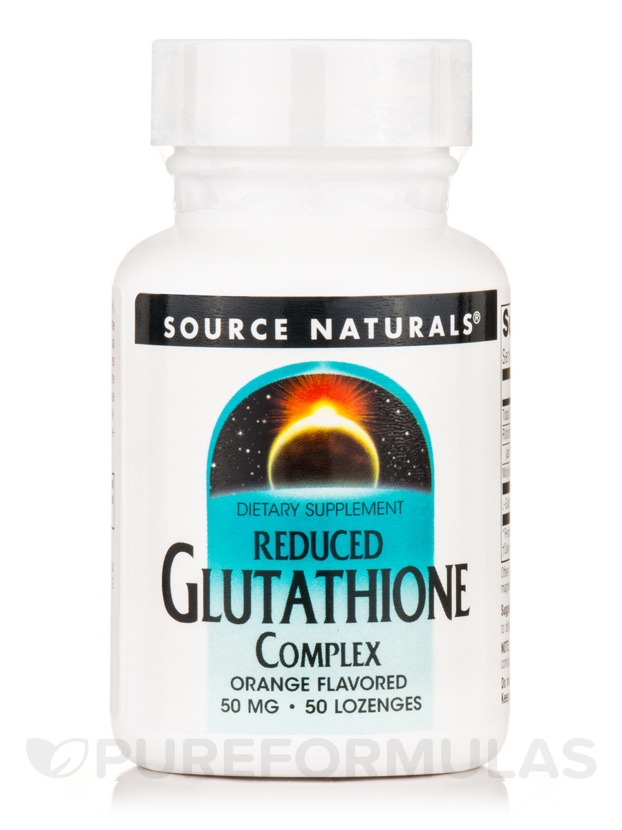 Glutathione Reduced Sublingual Complex 50 mg - 50 Tablets
