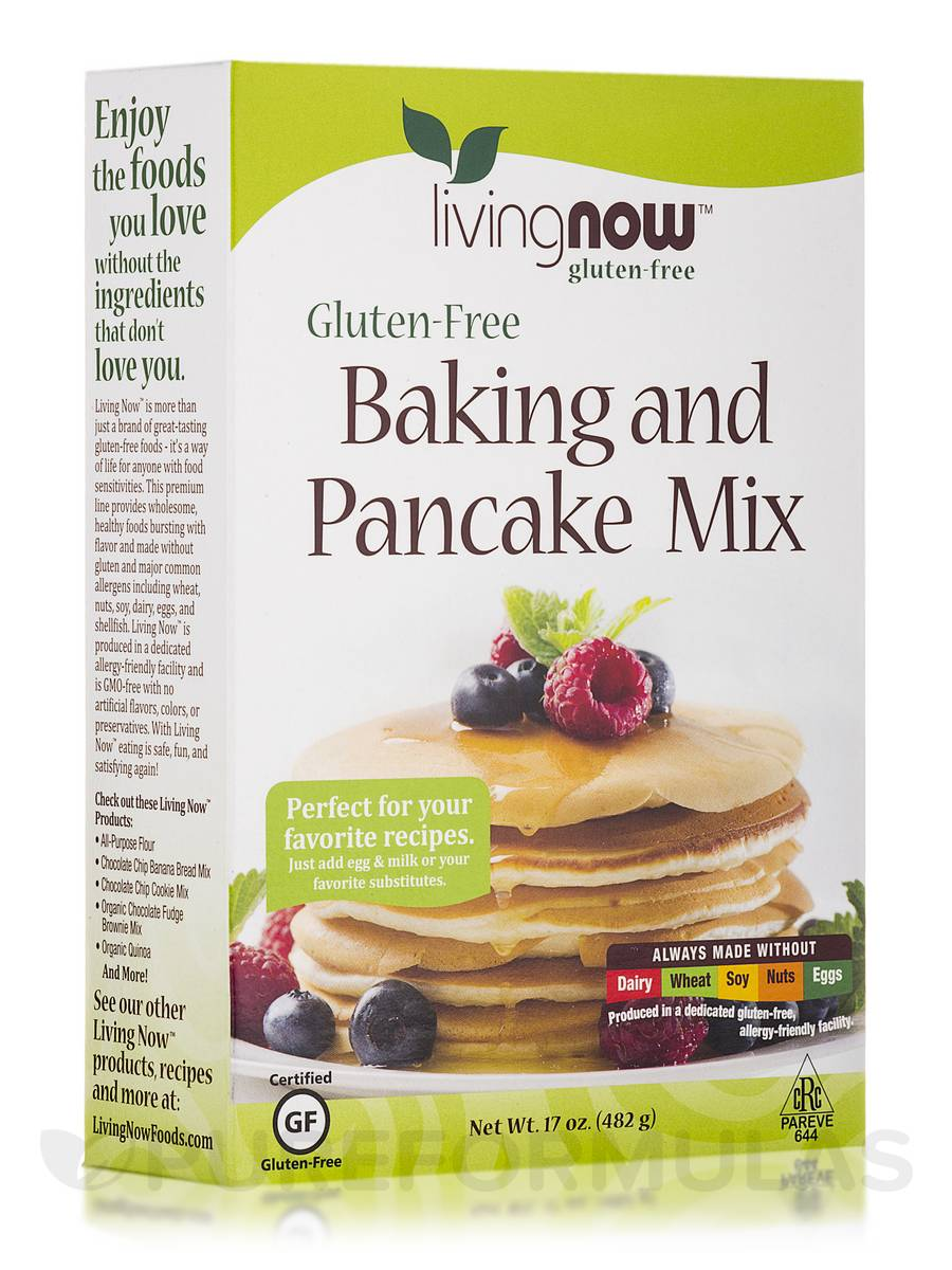 LivingNow™ Gluten-Free Baking and Pancake Mix - 17 oz (482 Grams)