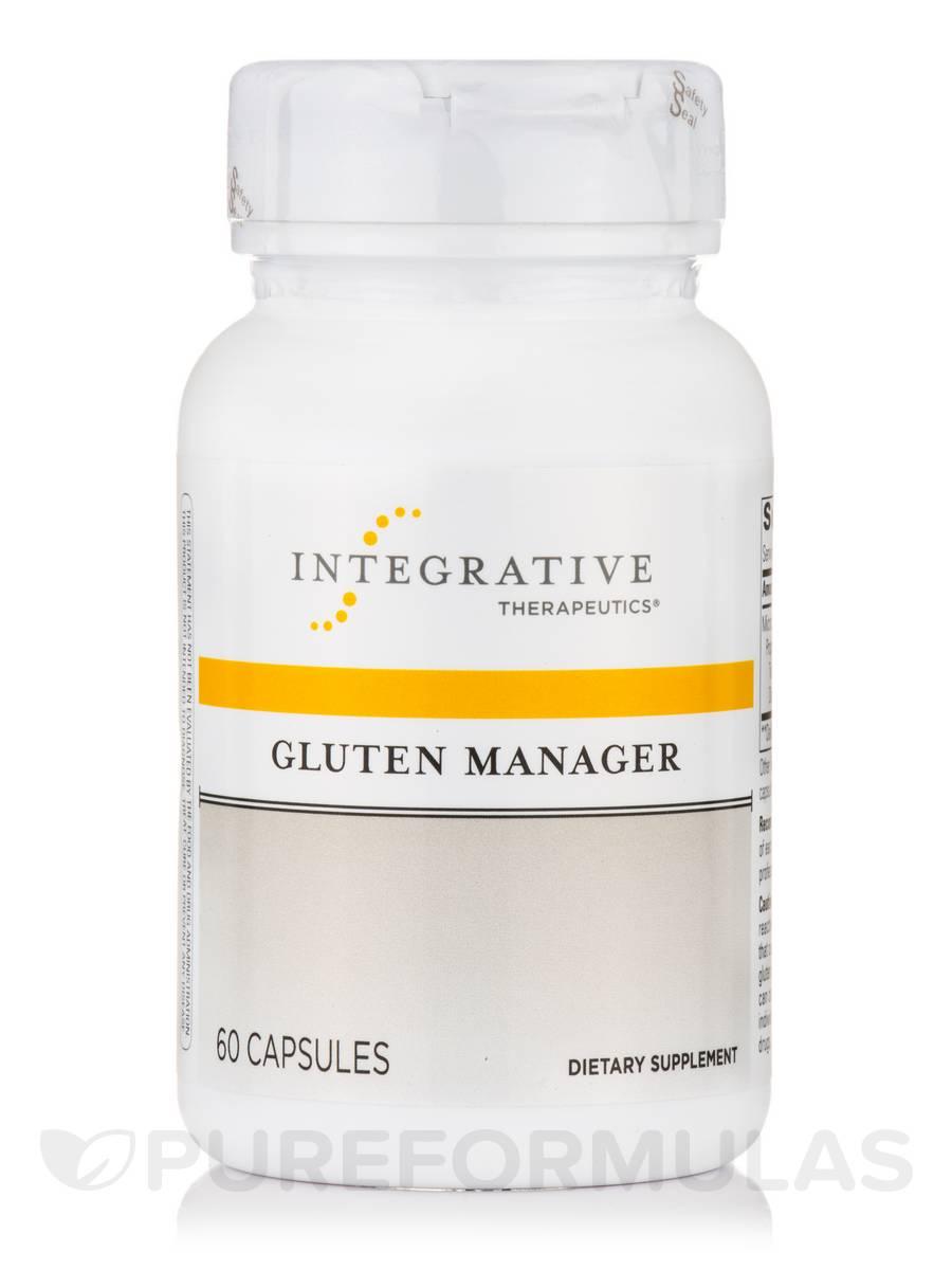 Gluten Manager - 60 Capsules