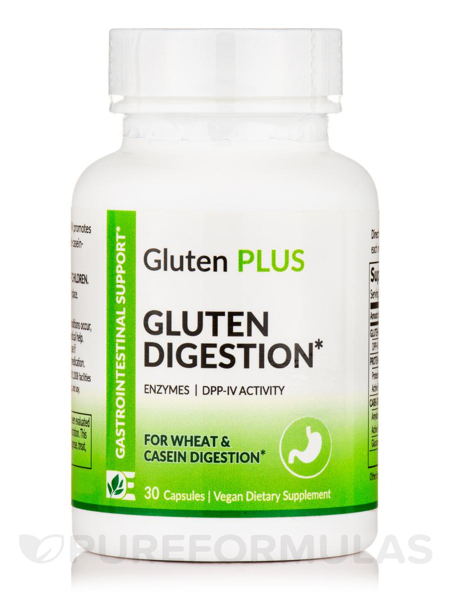 Gluten Plus (Extra Strength) - Gluten Digestion - 30 Capsules