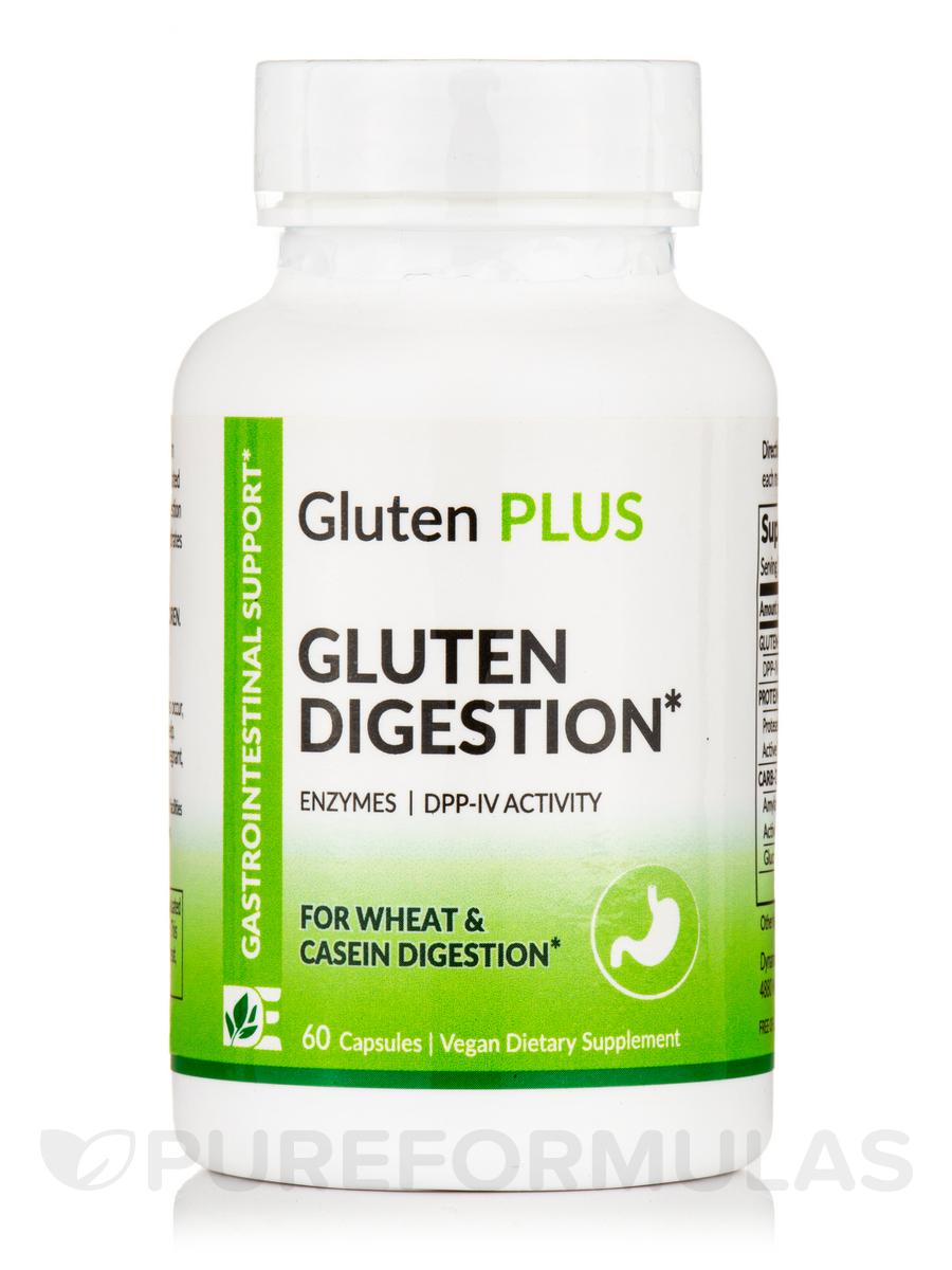 Gluten Plus (Extra Strength) - Gluten Digestion - 60 Capsules
