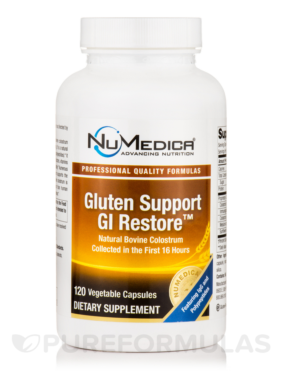 Gluten Support GI Restore™ - 120 Vegetable Capsules