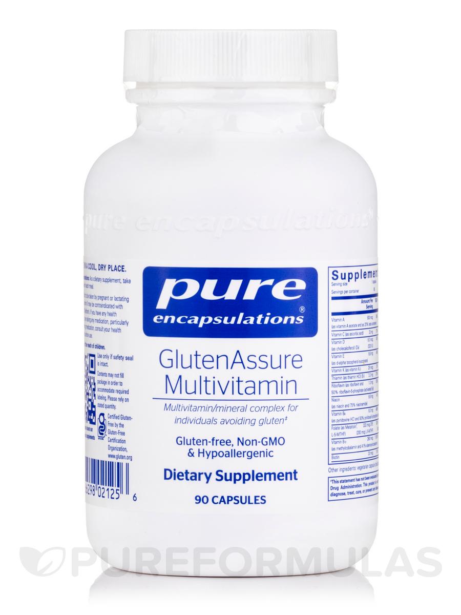 GlutenAssure Multivitamin - 90 Capsules
