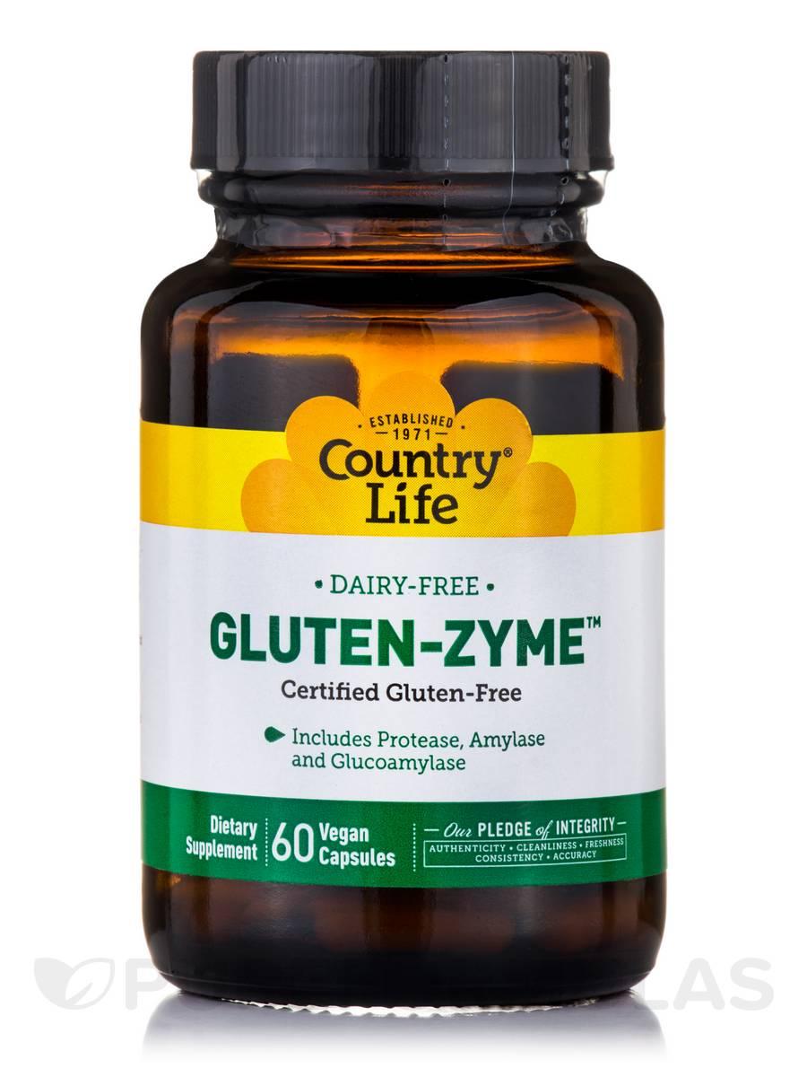 Gluten-Zyme™ - 60 Vegan Capsules