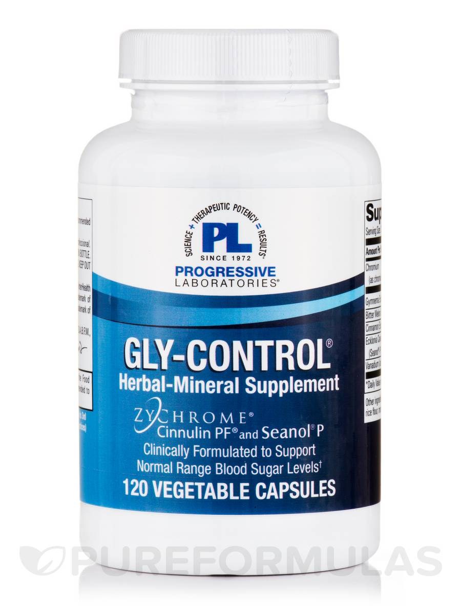 Gly-Control® - 120 Vegetable Capsules