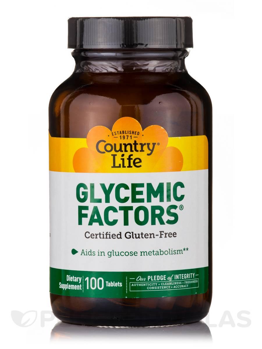 Glycemic Factors - 100 Tablets