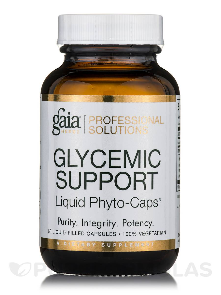 Glycemic Support - 60 Vegetarian Liquid-Filled Capsules