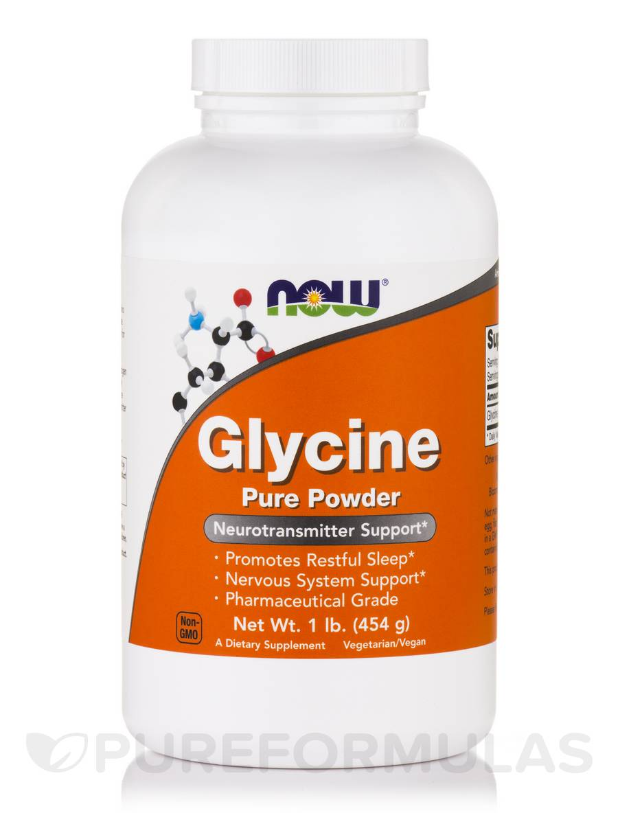 Glycine Pure Powder - 1 lb (454 Grams)