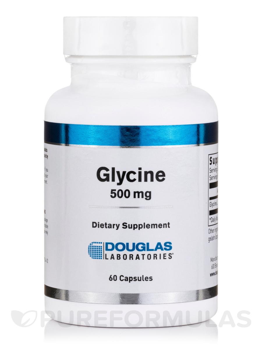 Glycine 500 mg - 60 Capsules