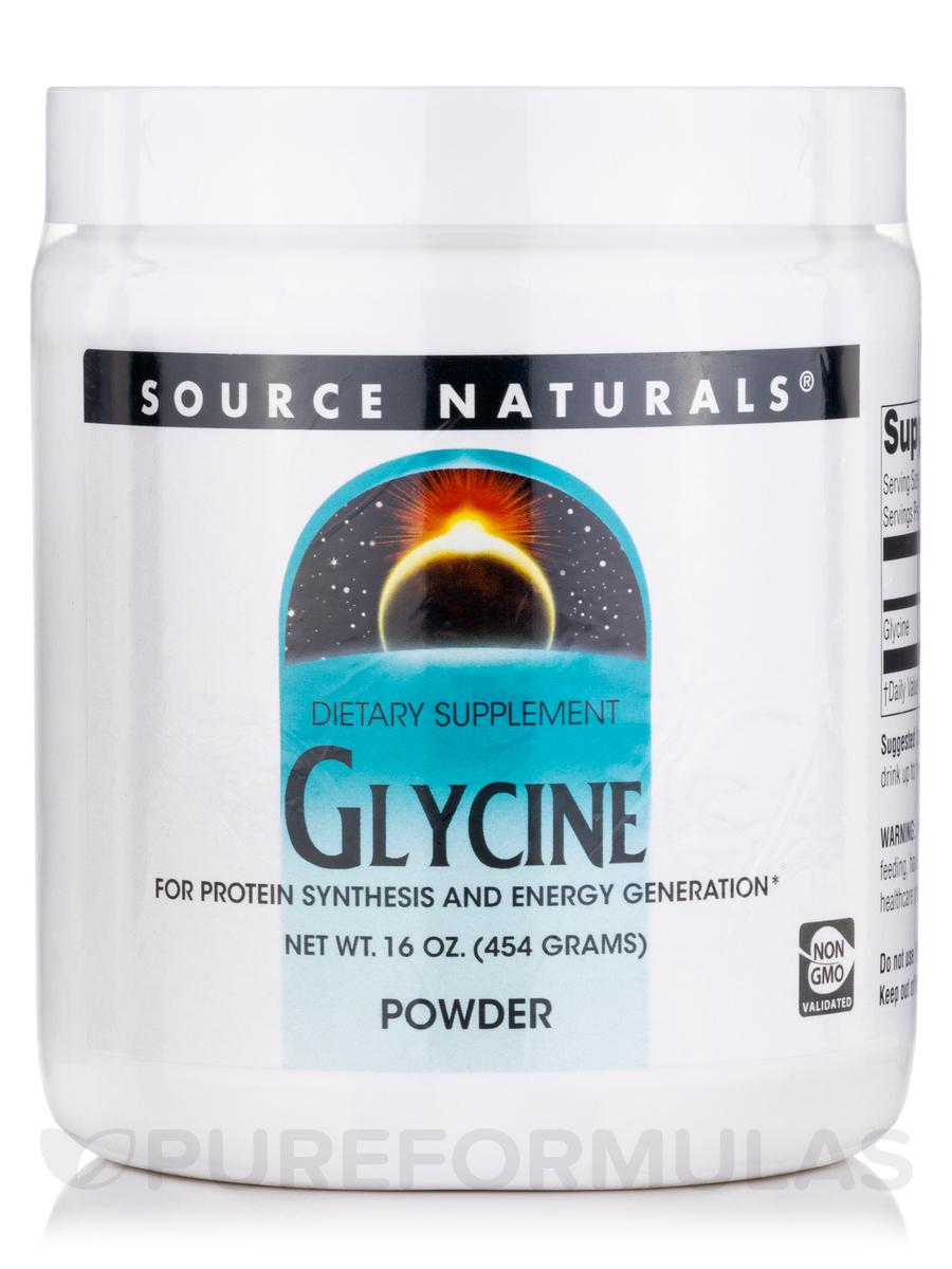 Glycine Powder - 16 oz (454 Grams)
